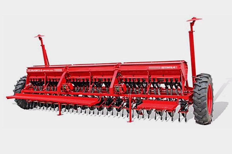 Сеялка ASTRA 5,4А зерновая (вариатор, сошник ОЗШ 00.4130-Т, пальцевый загортач, сигнализация)(Объем бункера:  для зерна – 1000 дм3, для туков – 500 дм3)