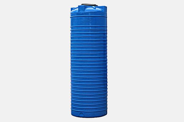 Вертикальная емкость 500л. d/В 640×1760мм.; Люк: 350мм. «VERT 500 bluе»