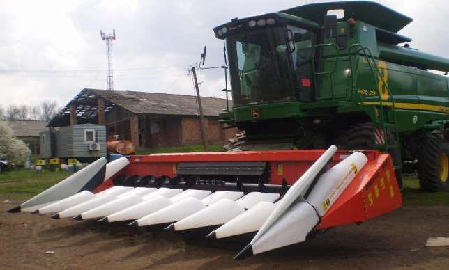 Жатка для уборки кукурузы CornMaster