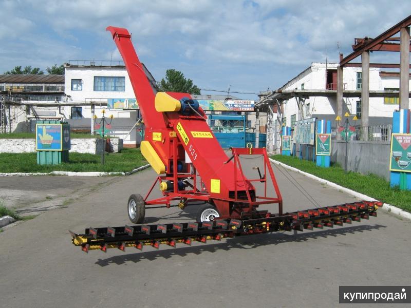 Погрузчик — зернометатель скребковый ПЗС-200 Вулкан