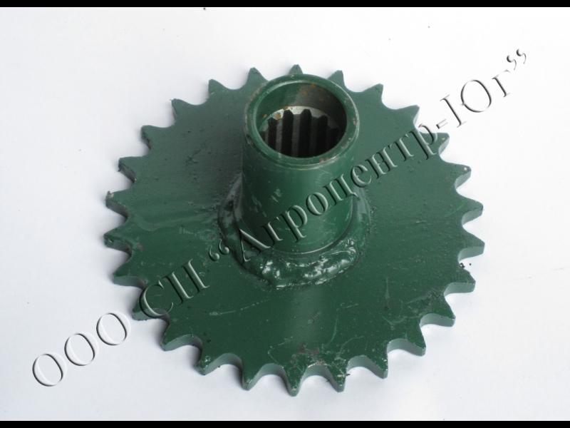 Полумуфта опоры ротора измельчителя стеблей