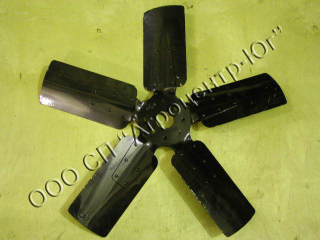 Крыльчатка вентилятора (диам.внут.65мм, диам. наруж.665мм)