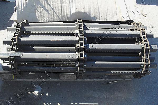 Транспортер наклонной камеры (усиленный) 4мм Нива, Нива-Эффект, ПАЛЕССЕ-812 (Болтовое соединение)
