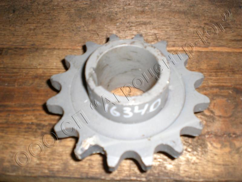 Звездочка (z=16, t=25,4) вала контрприводного МКШ до 2006 г.