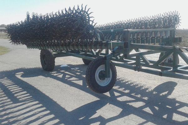 Борона-мотыга ротационная широкозахватная 12 метров «МРШ-12» прицепная с гидравлическим складыванием.