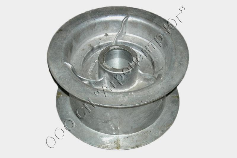 Шкив натяжной алюминиевый включения молотилки (без подшипника) Акрос, Дон-1500А/Б, Дон – 680
