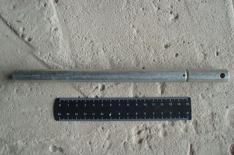Палец шнека жатки (усиленный) диаметр 16 мм, L-242 мм. Акрос, Торум, Вектор