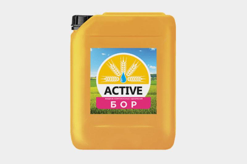 Жидкое минеральное удобрение ACTIVE-бор