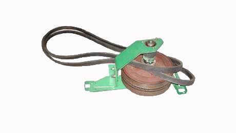 Блок вариатора ходовой части (без ремней, с рамкой)