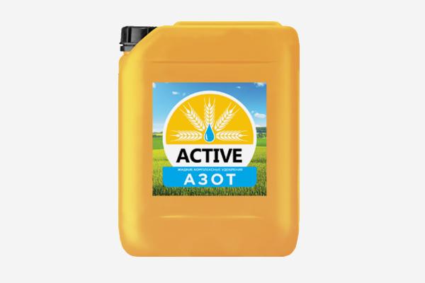 Жидкое минеральное удобрение ACTIVE-азот