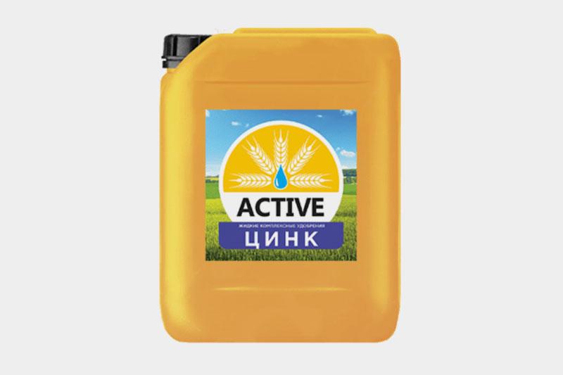 Жидкое минеральное удобрение ACTIVE-Цинк