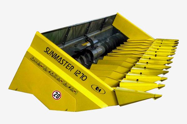 Жатка для уборки подсолнечника Sunmaster 1270 (12-ти рядная, навесная) Новатор ППН-1270