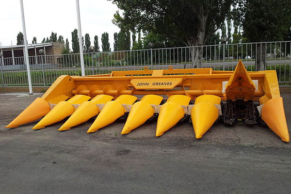 """Жатка для уборки кукурузы JOHN GREAVES ЖК-60 """"Бердянские жатки"""""""