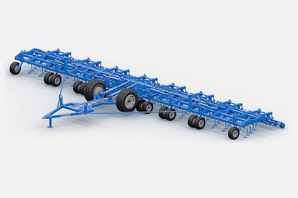 Культиватор КБМ универсальный 11 метров КБМ-11ПС-В (64 р.о., без модульных рамок, 10 опорных колеса, планчато-зубовый выравниватель, одинарный каток) 220-240л.с. прицепной