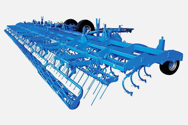 Культиватор КБМ универсальный 15 метров КБМ-15ПС-В  (84 р.о., без модульных рамок, 14 опорных колес, планчато-зубовый выравниватель, одинарный каток) от 300л.с. прицепной