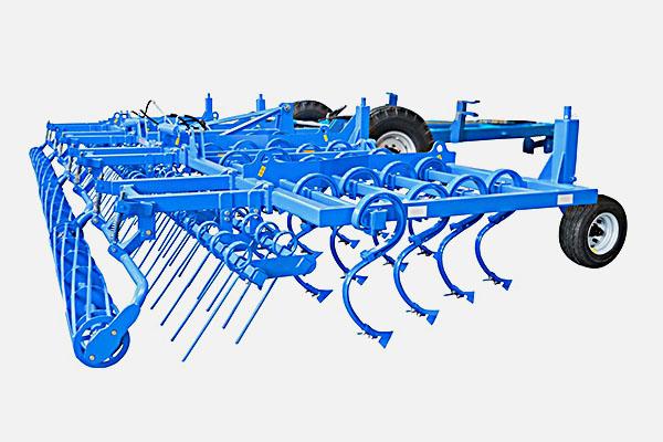 Культиватор КБМ универсальный 8 метров КБМ-8П (48 р.о., без модульных рамок, 4 опорных колеса, одинарный каток) 180-240л.с. прицепной