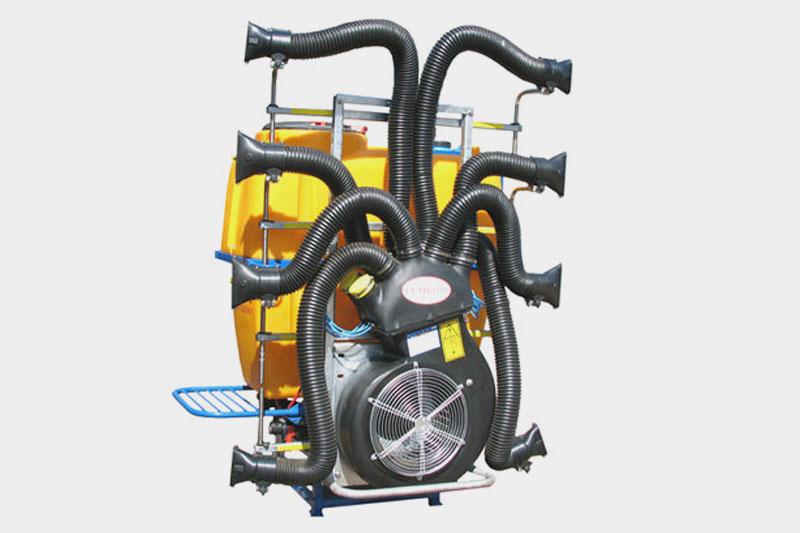 Опрыскиватель вентиляторный навесной ОВС-600С «Октопус» Вентиляторная приставка  «Спрут» (Италия), 2-х скоростной, распыливающих узлов – 8 шт.