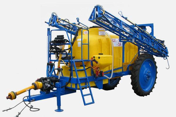 Опрыскиватель полевой штанговый полуприцепной ОП-3000-24 (базовая комплектация с промывочной системой (бак 350л))