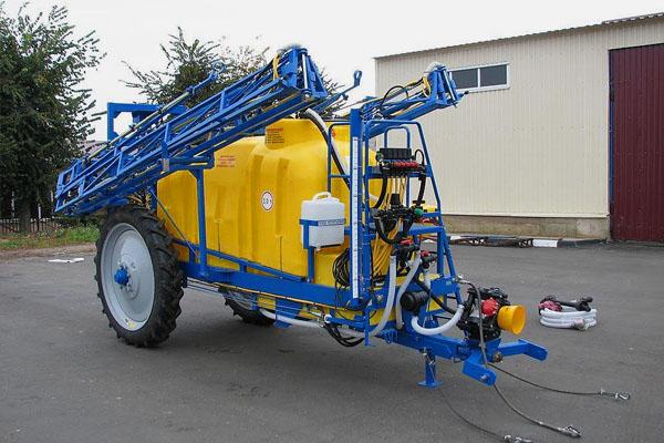 Опрыскиватель полевой штанговый полуприцепной ОП-3000-27 (базовая комплектация с промывочной системой (бак 350л))