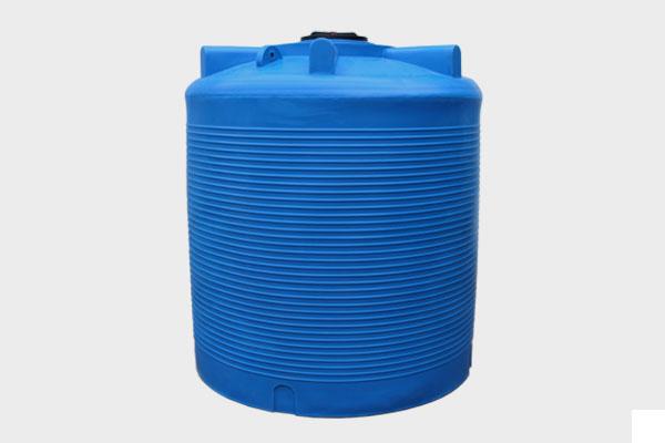 Вертикальная емкость 10 000л.  d/В 2250×2550; Люк: 450 мм. «VERT 10000 bluе»