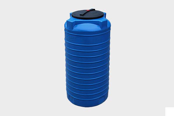 Вертикальная емкость 300л. d/В 710×840мм.; Люк: 350мм. «VERT 300 black/bluе»