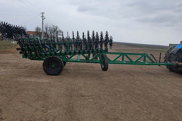 Мотыга ротационная широкозахватная 9 метров «МРШ-9» прицепная с гидравлическим складыванием