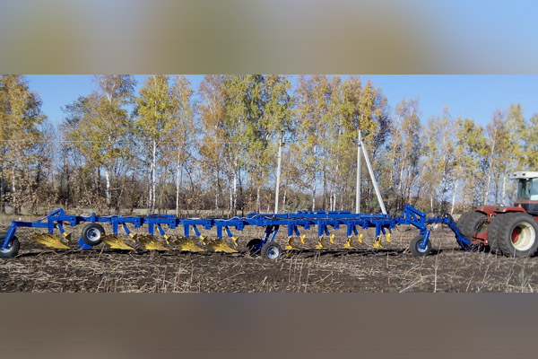 Плуг прицепной лемешный модульный 13 корпусов «МПМ-13». Под трактор: 410 л.с. (для загонной вспашки)