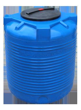 Емкость для воды VERT 300 черная / синяя