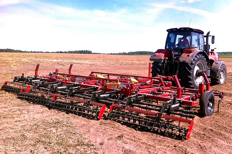 Культиватор прицепной «КПМ-6» блочно-модульный (для весенней обработки почвы)
