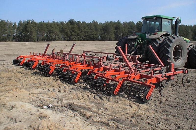 Культиватор прицепной «КПМ-10» блочно-модульный (для весенней обработки почвы)