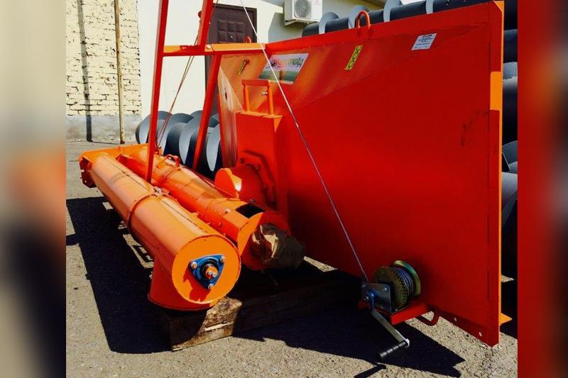 Загрузчик сеялок бортовой ГЗС30-УБ с лебедкой