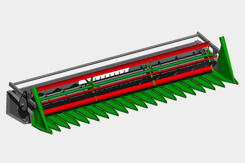 Приспособление для уборки подсолнечника 7,62 м JOHN DEERE (с комплектом планок на штатное мотовило)
