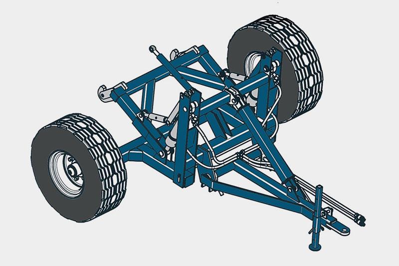 Устройство прицепное РИТМ СЗ-6(С3Т-6) для агрегатирования трактора типа МТЗ-82