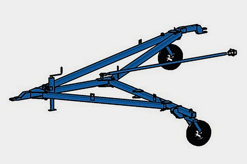 Сцепка СП-10,8 для составления сеялочных агрегатов с ГМУ (2 сеялки СЗ-5,4)