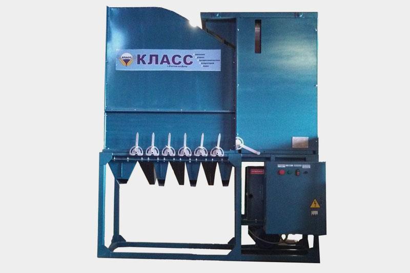Зерноочистительная машина КЛАСС-50 МС-20 стационарная (первичная очистка до 50 т/ч, сепарация семян до 20 т/ч)