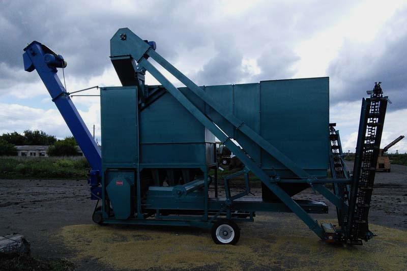 Зерноочистительная машина КЛАСС-20 МС-10П самаходная (первичная очистка до 20 т/ч, сепарация семян до 10 т/ч)