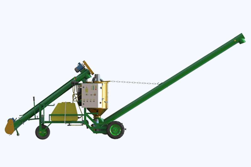 Протравливатель зерна ПСК-15 Самоходный, автоматический, емкость 210л, высота выгрузки дл 3,6 метра, до 20 т/ч.