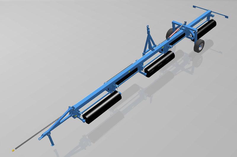 Каток водоналивной прикатывающий КВНГ-10 водоналивной гидрофицированный (480мм)