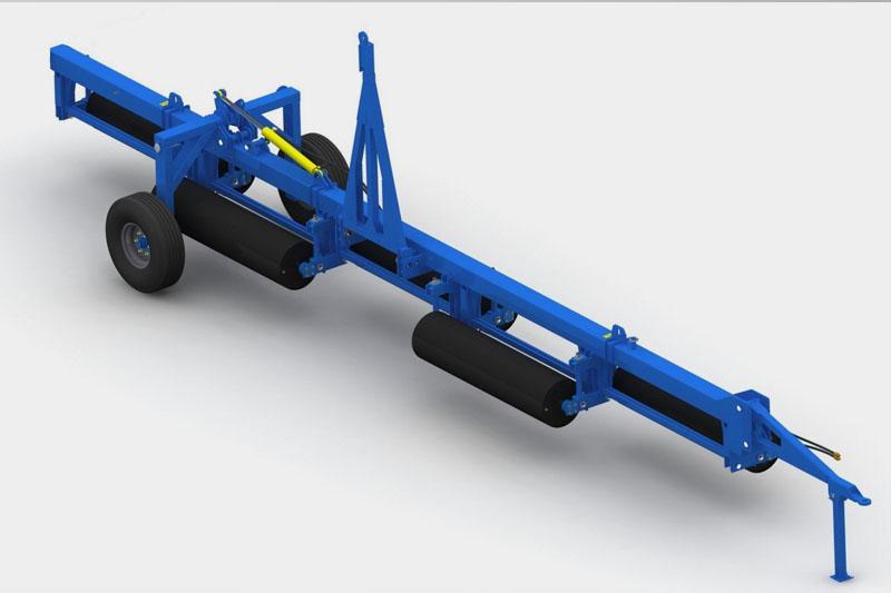 Каток водоналивной прикатывающий КВНГ-12 водоналивной гидрофицированный (480мм)