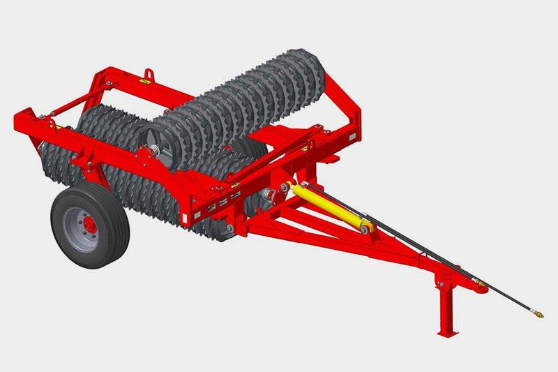 Каток ККЗ-6-02 кольчато-зубчатый (510мм) (круглый вал 60 мм или шестигранный 55 мм)