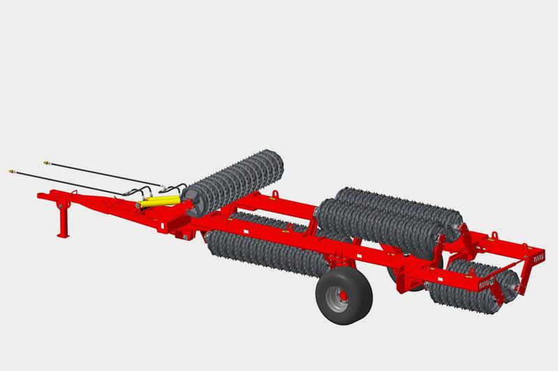 Каток ККЗ-12-02 кольчато-зубчатый (510мм) (круглый вал 60 мм или шестигранный 55 мм)