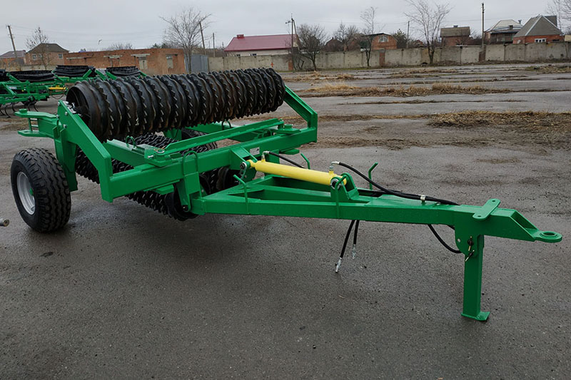 Каток ККЗ-10,2П кольчато-зубчатый (520мм) 130-160 л.с.