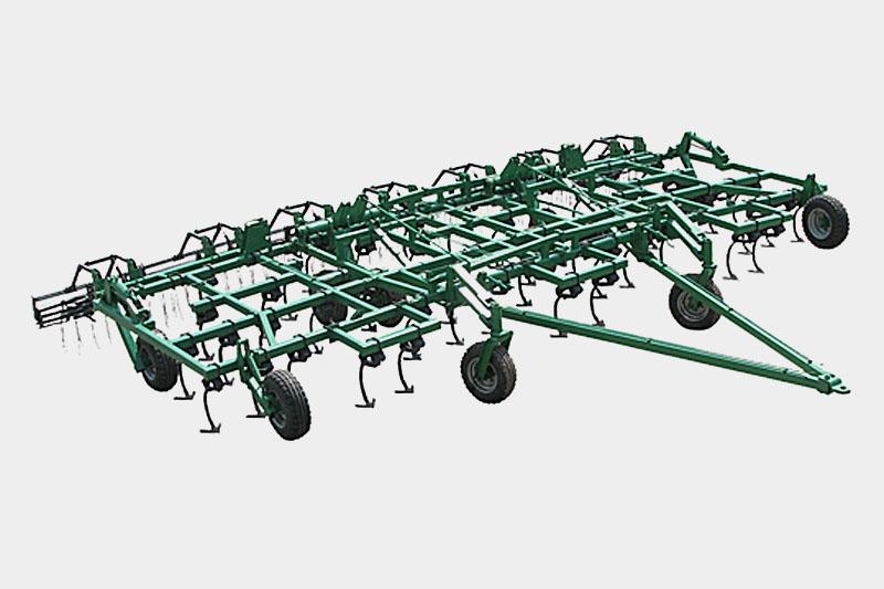 Культиватор стерневой прицепной КРГ-10,0 М для разноглубинной обработки 350л.с.