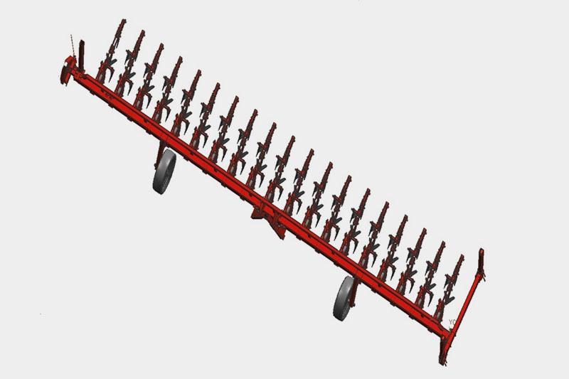 Культиватор свекловичный пропашной прицепной УСМК-8,1 (18х45) с ЖКУ