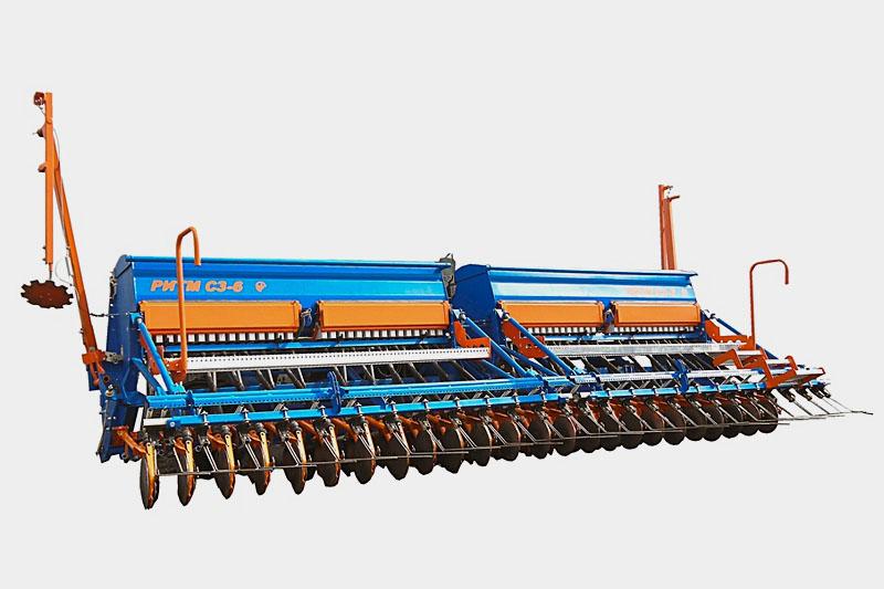 Сеялка зерновая РИТМ С3-6 без внесения удобрений Завод РИТМ