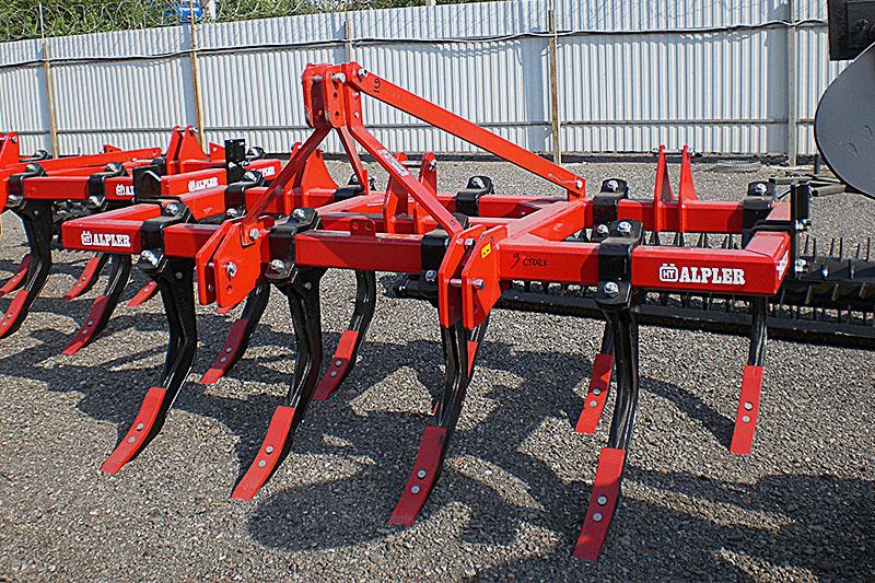 Глубокорыхлитель ALPLER CPA09 модель 9 стоек 2,7 метра